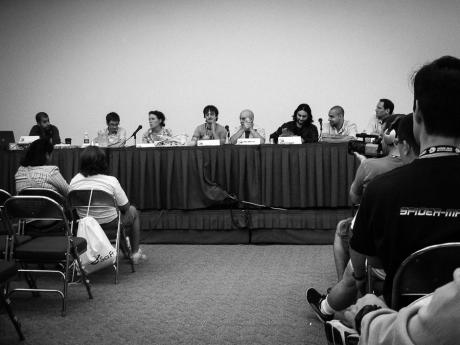 Comic-Con 2004: Our very first Avatar panel drew a couple hundred people.